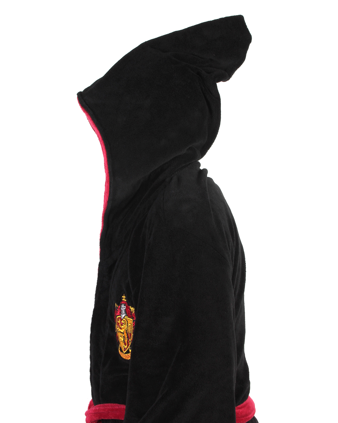 Harry-Potter-ALL-HOUSES-Adult-Fleece-Hooded-Bathrobe-One-Size miniature 6