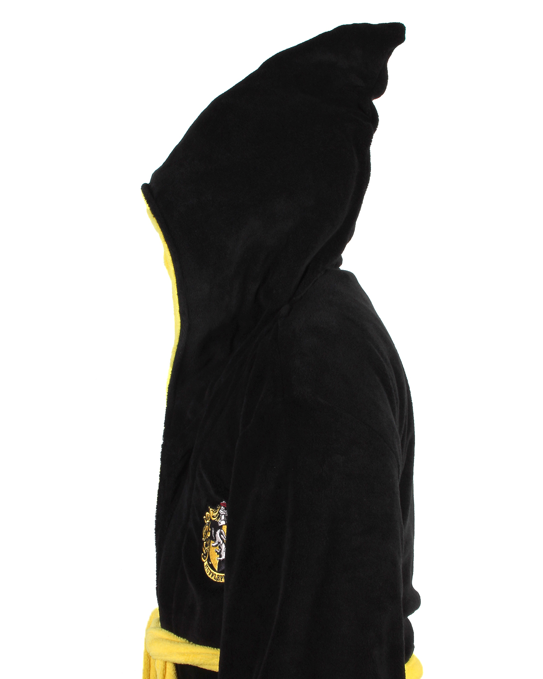 Harry-Potter-ALL-HOUSES-Adult-Fleece-Hooded-Bathrobe-One-Size miniature 12